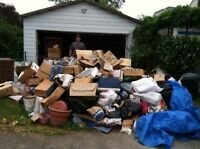 Alex's garbage and junk!! Same day service!!
