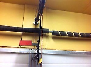 GARAGE DOOR SPRINGS AND CABLES REPAIR 403-874-7383