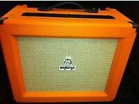 Orange Rocker 30 Class A guitar amp, Superb.