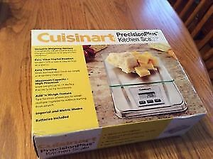 Cuisinart KS-56 Precisionplus Electronic Kitchen Scale Stainless