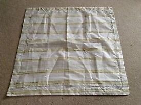 Next square striped cushion cover / pillow case 28x28 ......new