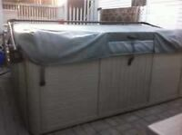 7 person hot tub for trade or sale