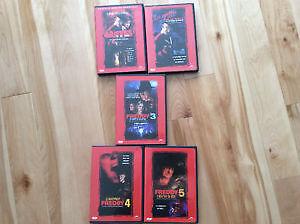 DVD Freddy 1 à 5