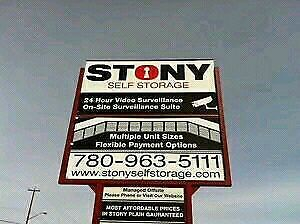 ***** ONLY $70 ***** for 5x10' Storage in STONY PLAIN!!