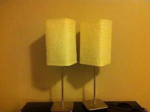 2 Night Lamps up for sale