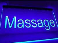 relaxing massage will resume when safe to do so