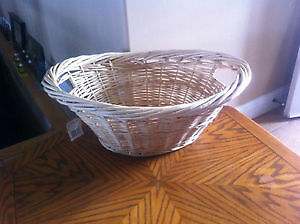 New Wicker Clothes Basket