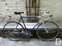 Stolen: Blue Fiori Race bike $100 for return or replacement
