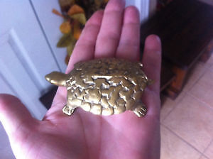 Solid Brass Turtle