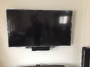 Home Entertainment System - TV Wall Mounting & Hookup