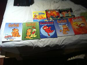 Livres Garfield Bande Dessinée 20$ pour le tout !