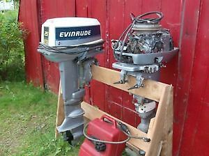 Twin 25 Horsepower Evinrude (1985) Outboard Motors for Sale