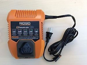 Rigid 12 volt Lithium Ion Battery Charger Edmonton Edmonton Area image 1