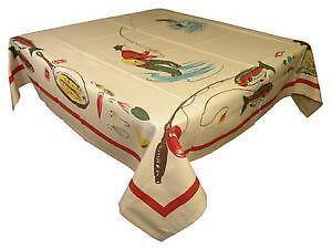 Fish Tablecloth Ebay