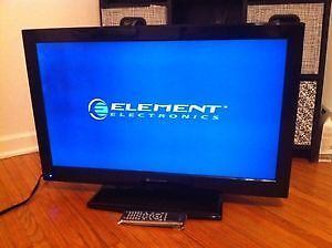 "Elements 32"" Inch LED Flat Screen TV! Smart TV! With Remote!"
