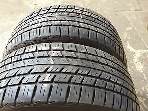 LT315/70R17set of 2 BFGoodrich Used(inst.bal.incl)90% tread left