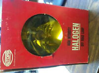 "Autopal 6"" Halogen Off Road Lamp Yellow Lense"