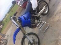2008 yz250 4 hours on rebuilt engine priced to sell need gone!