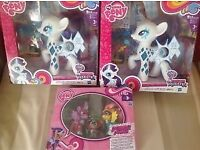BNIB My Little Pony Toys Glamour Glow Equestria and Power Ponies £10 each or £22 for all 3