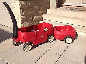 Step 2 Wagon Stroller + Trailer  | Chariot Poussette + Remorque