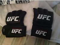 MMA gloves UFC official gloves size small.