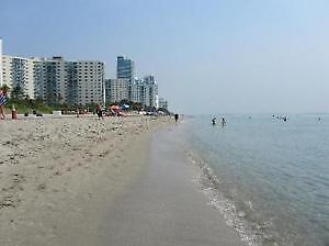 Hollywood/Miami/Hallandale Condo on the beach