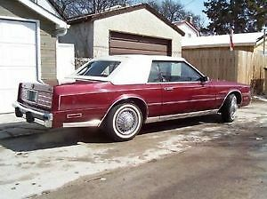 1980 Chrysler Cordoba - very motivated seller - estate sale