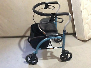 "Evolution Xpress  walker / rollator,  TALL, ""almost new"" cond."