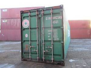 40' HC Steel Shipping Container Needs TLC Discounted