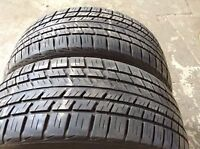 215/70R15 Set of 2 BF Goodrich Used(inst.bal.incl)75% tread left