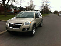 2008 Saturn Outlook XE SUV, 8 Passagers ,Mags. 1-Tax