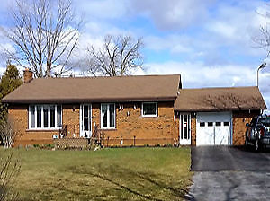 All Brick 3 bdrm Bungalow on 50 Acres- 5 min. from Napanee & 401