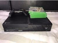 XBOX ONE 2 CONTROLLERS OVER 5 GAMES BARGIN!!!