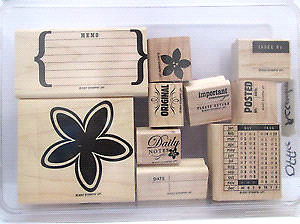 New Stampin up Accoutrement 10 pcs stamp sets