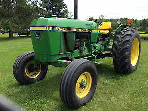 Nothing runs like a Deere;1840 tractor mint condition 60+HP