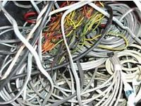 House electrical wire free for collection
