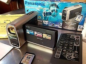 NEW Panasonic SDR-SW20 Waterproof SD Camcorder (Silver) Armadale Armadale Area Preview