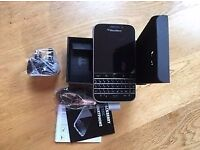 BLACKBERRY Q20 CLASSIC UNLOCKED MINT CONDITION FULLY BOXED £90