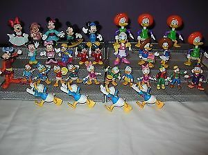 Disney Mickey Mouse & Donald PVC Plastic Lot of 33