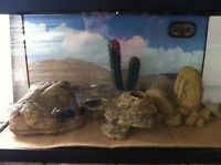 Reptile tank and assessories