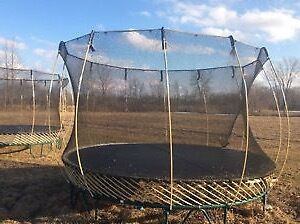 Extremely cheap trampoline