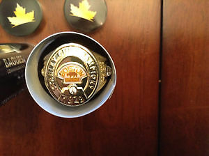 Boston Bruins Replica Stanley Cup Ring Gold Cornwall Ontario image 1