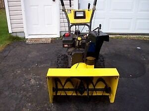 Looking to trade snowblower for riding mower