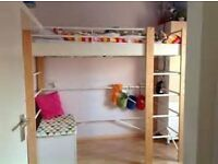 Childs Metal Frame Bunk Bed