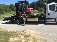 FLATBED,TOW TRUCK,HEAVE EQUIPMENT,FORKLIFT,SKIDSTEER & CAR MOVE