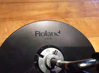Roland CY-5 single zone cymbal pad with clamp