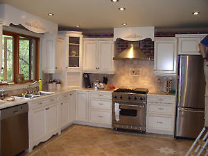 KITCHEN CABINET REFINISHING 1/4 COST OF BUYING NEW London Ontario image 3