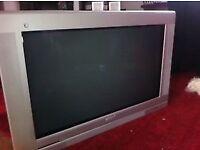 """Philips 36"""" CRT TV Big Screen HUGE Sound Sub Woofer Dolby Digital inside"""