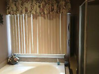 JUST  LIKE NEW VERTICAL BLINDS