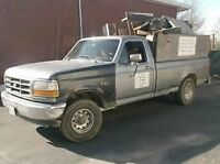 Garbage , Tree , junk removal &yard clean ups 663-5590